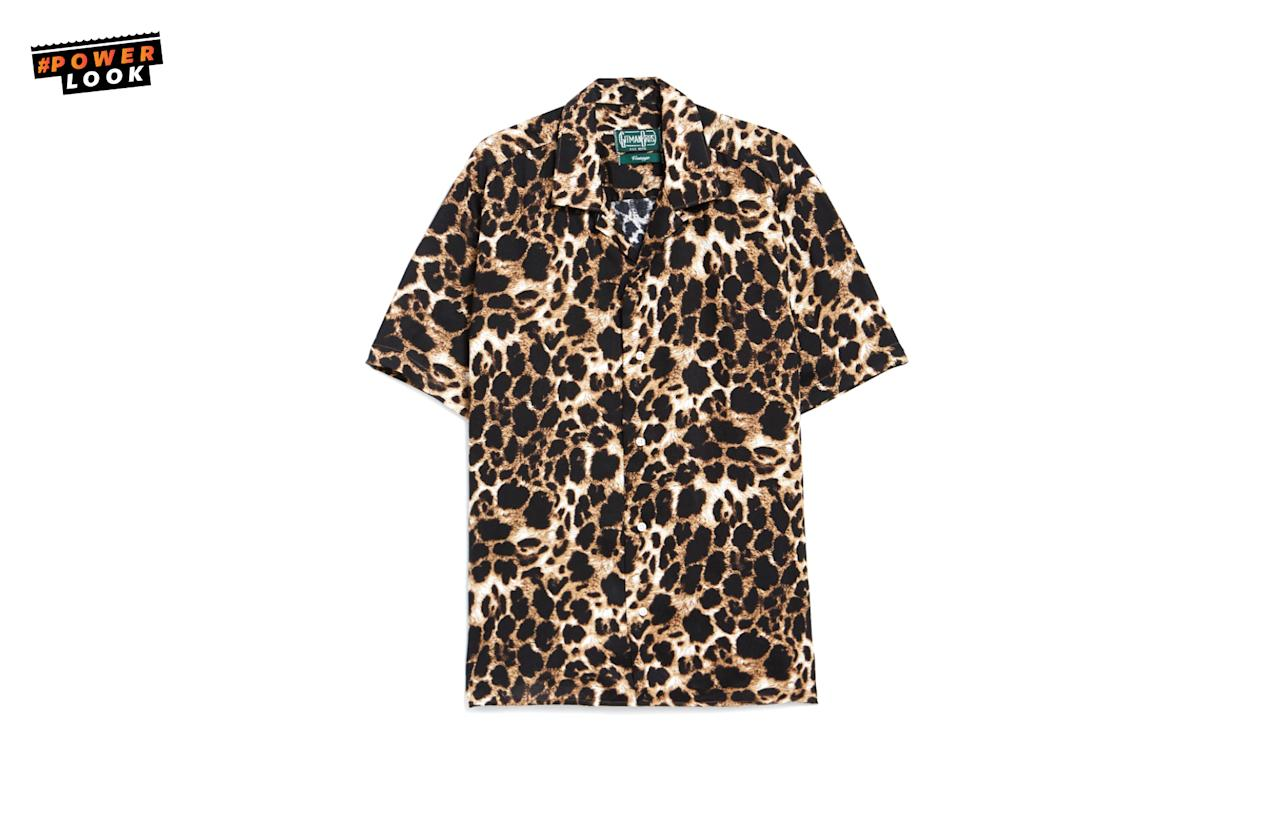 """<p><span>""""Last summer, I really wanted a leopard print short-sleeve shirt but I never pulled the trigger. I'm still mildly obsessed with looking like a cheap knockoff version </span><a rel=""""nofollow"""" href=""""http://www.thefashionisto.com/wp-content/uploads/2015/03/Kurt-Cobain-Style-Photo-Sunglasses-Leopard.jpg""""><span>of Kurt Cobain</span></a><span> (or </span><a rel=""""nofollow"""" href=""""http://assets3.capitalfm.com/2015/20/harry-styles-leopard-shirt-hat-rolling-stones-concert-1432220729-view-0.jpg""""><span>Harry Styles</span></a><span>, apparently) and this </span><a rel=""""nofollow"""" href=""""http://needsupply.com/rayon-leopard-ss-camp-shirt.html""""><span>Gitman Bros. button-up</span></a><span> also has the camp collar everyone is obsessing over."""" <em><a rel=""""nofollow"""" href=""""https://twitter.com/camjwolf"""">Cam Wolf</a>, Racked Menswear Editor</em></span><br /><span>Gitman Brothers Vintage, Rayon Leopard SS Camp Shirt, </span><a rel=""""nofollow"""" href=""""http://needsupply.com/rayon-leopard-ss-camp-shirt.html"""">$204</a><br /><a rel=""""nofollow"""" href=""""http://needsupply.com/"""">needsupply.com</a> </p>"""