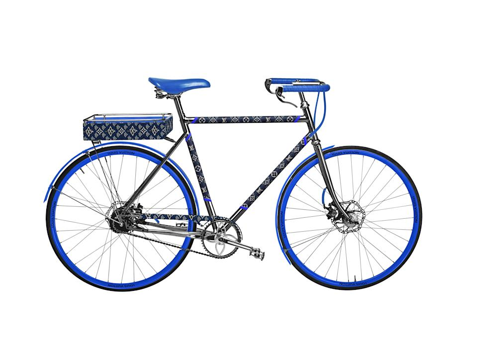 """<p><strong>Louis Vuitton</strong></p><p>Louis Vuitton</p><p><strong>$28900.00</strong></p><p><a href=""""https://us.louisvuitton.com/eng-us/products/bike-pm-step-through-monogram-jacquard-since-1854-nvprod2700013v"""" rel=""""nofollow noopener"""" target=""""_blank"""" data-ylk=""""slk:Shop Now"""" class=""""link rapid-noclick-resp"""">Shop Now</a></p><p>He'll be rolling around town with extra swag.</p>"""