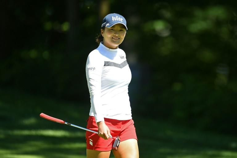 Rookie of the year contender Ko Jin-young had five birdies and three bogeys in her third round 70 and shared fifth place on 201 with Japan's Nasa Hataoka (68) and Mina Harigae (65)