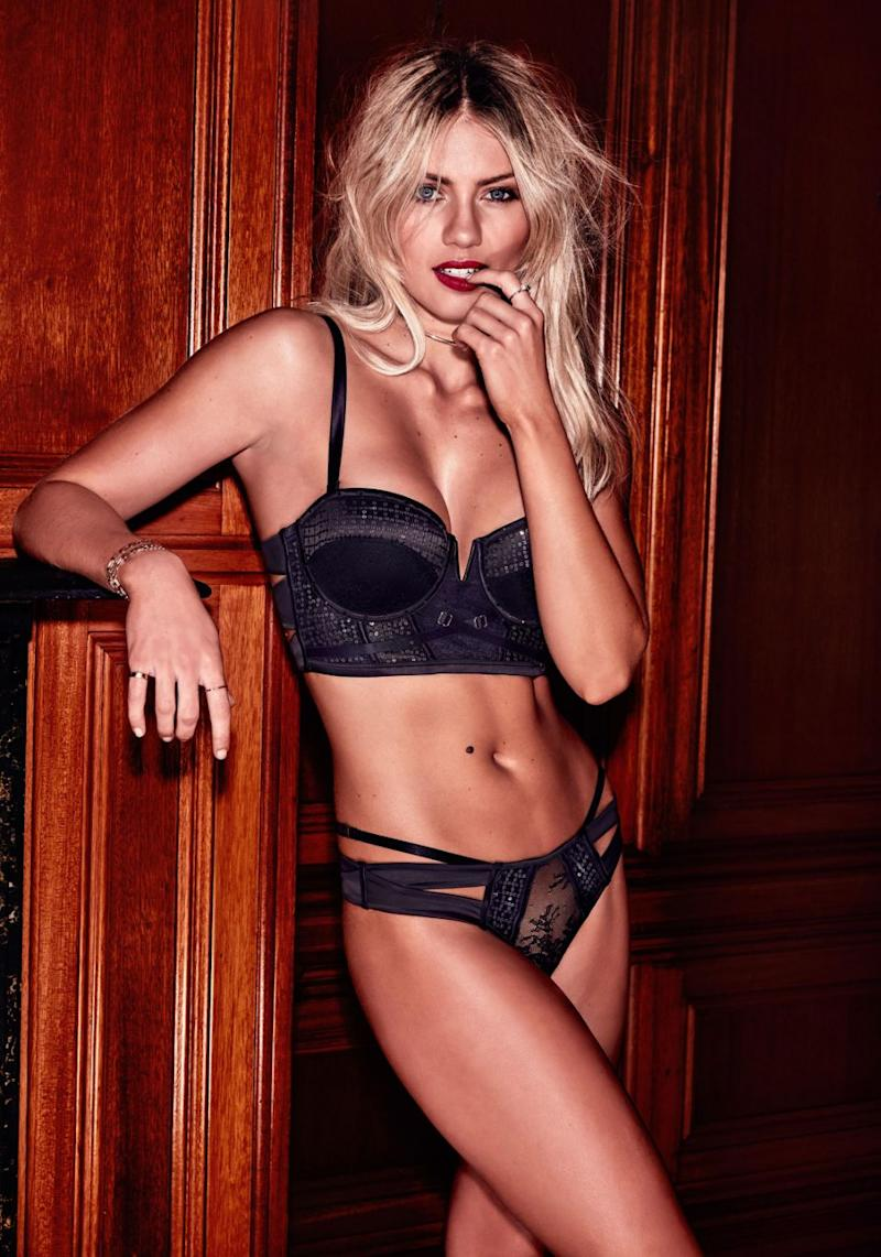 Her latest campaign has been for lingerie company Bras N Thing's. Source: Bras N Things