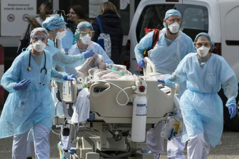 Some French hospitals are already struggling to cope with the numbers of patients