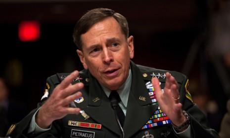 Petraeus testifies in front of the Senate Armed Services Committee in June 2010: Petraeus' short stint at the CIA came to an end Friday after he admitted to an extramarital affair and resigned.