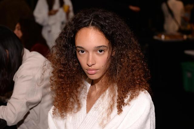 <p>We like this ombré mix of curls and baby-smooth skin. (Photo: Getty) </p>