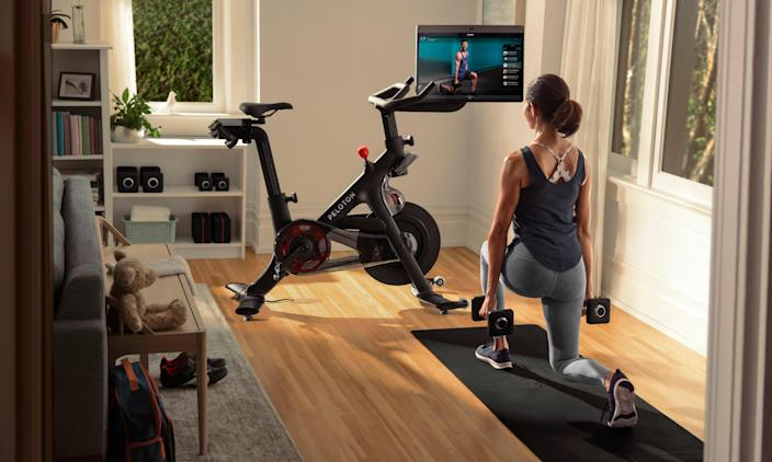 Peloton users can now work out to Beyoncé-themed playlists.