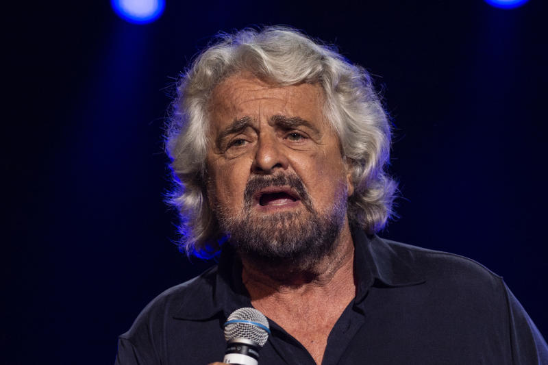 Beppe Grillo (Photo by Ivan Romano/Getty Images)