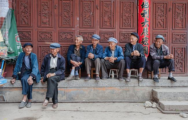 China's aging population