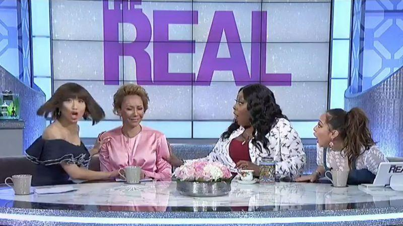Mel B Appeared on The Real where she appeared to confirm the Spice Girls are set to perform at the royal wedding. Photo: The Real