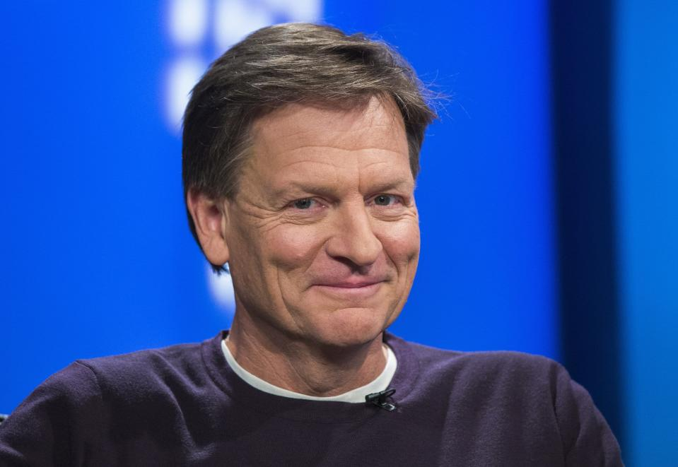 """Author Michael Lewis released """"Moneyball"""" 15 years ago. (REUTERS)"""