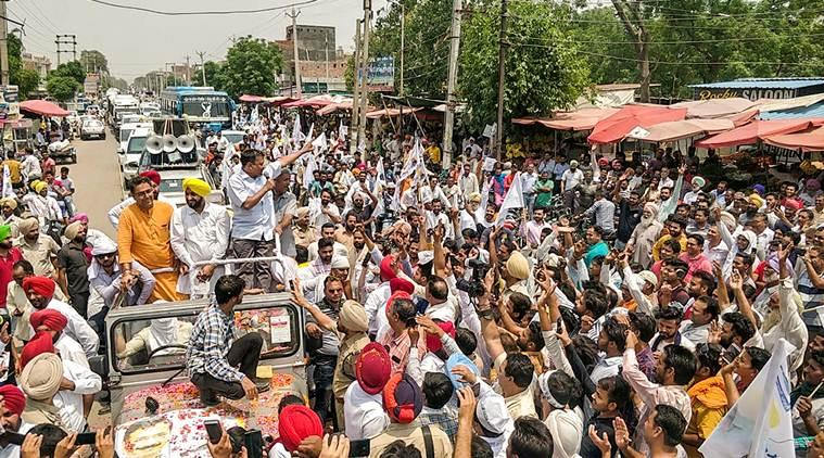 Lukewarm response in Capt Amarinder's bastion, AAP chief blames early morning