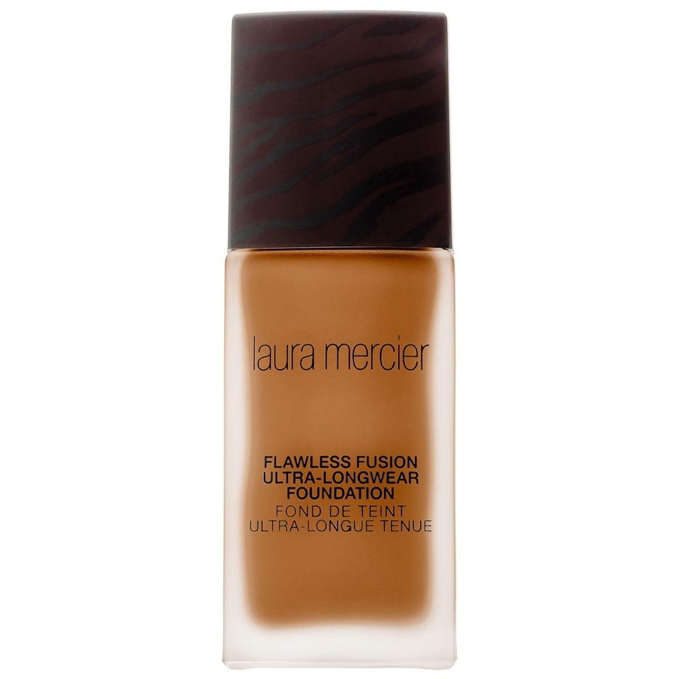 """<p>Just in time for summer, Laura Mercier dropped a new oil-free foundation with one of the longest-lasting formulas we've tried this year. We dare you to test it on the most humid day.</p><p><strong>Laura Mercier</strong> Flawless Fusion Ultra-Longwear Foundation, $48, available at <a href=""""http://www.sephora.com/flawless-fusion-ultra-longwear-foundation-P421280?skuId=1974542&icid2=just%20arrived%3Ap421280"""" rel=""""nofollow noopener"""" target=""""_blank"""" data-ylk=""""slk:Sephora"""" class=""""link rapid-noclick-resp"""">Sephora</a>.</p>"""