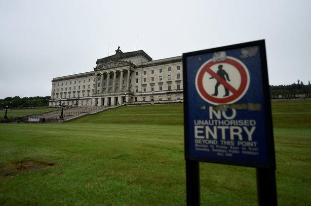 Stormont in Belfast, Northern Ireland, where the assembly has not been sitting for over a year