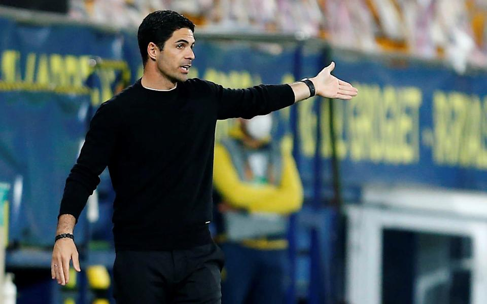 Mikel Arteta is trying to be Pep Guardiola - but Arsenal just do not have the players - Shutterstock