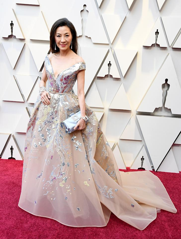 "<p>The ""Crazy Righ Asian"" actress is definitely a contender this year's best dressed! </p>"