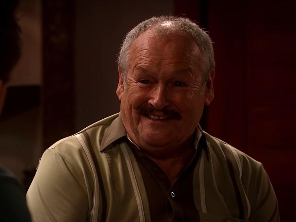 Bobby Ball as Frank in 'Not Going Out' (BBC)