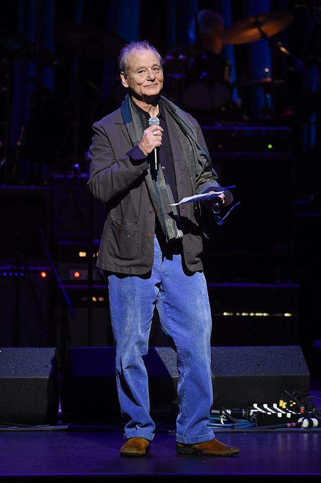 <p>Everyone's favorite actor spoke on stage Thursday night, at the second annual LOVE ROCKS NYC! A Benefit Concert for God's Love We Deliver, at the Beacon Theatre in New York City. (Photo: Jamie McCarthy/Getty Images for God's Love We Deliver) </p>