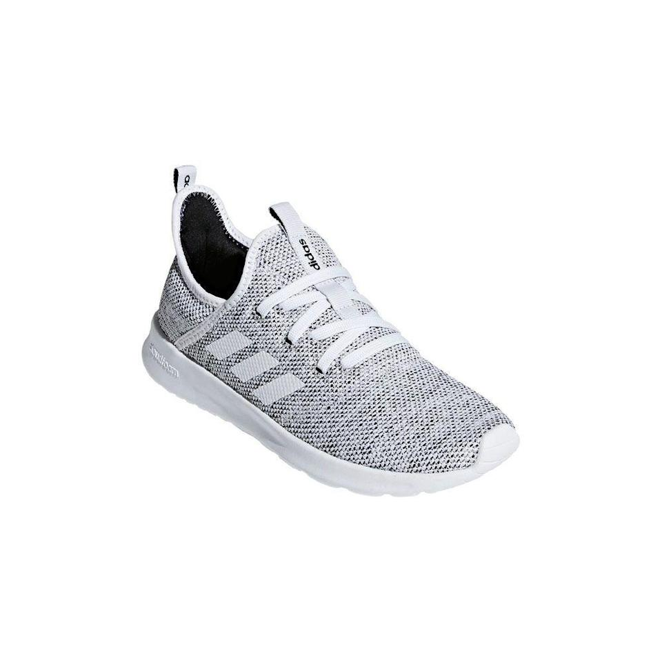 "<p><strong>adidas</strong></p><p>amazon.com</p><p><strong>$46.97</strong></p><p><a href=""https://www.amazon.com/dp/B0711R2TNB?tag=syn-yahoo-20&ascsubtag=%5Bartid%7C2089.g.34618159%5Bsrc%7Cyahoo-us"" rel=""nofollow noopener"" target=""_blank"" data-ylk=""slk:Shop Now"" class=""link rapid-noclick-resp"">Shop Now</a></p><p>This is not a drill: adidas' best-selling running shoe is now on serious discount for Black Friday. Whether she needs a pair to jump-start her running career, or just a comfy set of kicks to wear while strolling through the grocery store, their cloudfoam memory sock liner and textile lining will keep her toes happy with every step.</p>"