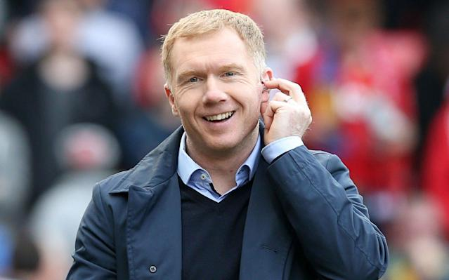 Paul Scholes holds talks over Oldham Athletic manager's job