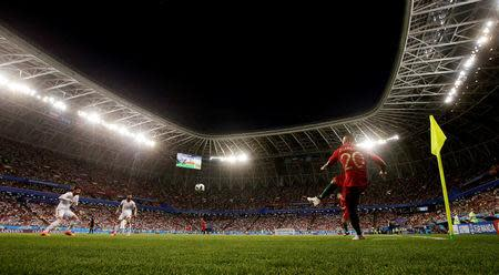 Soccer Football - World Cup - Group B - Iran vs Portugal - Mordovia Arena, Saransk, Russia - June 25, 2018 Portugal's Ricardo Quaresma in action REUTERS/Ricardo Moraes