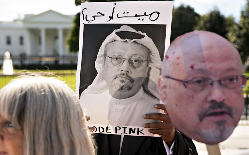 Jamal Khashoggi was murdered on October 2 by Saudi government operatives including bodyguards to Crown Prince MBS - Bloomberg