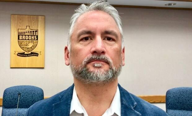 Barry Morishita is stepping down as mayor of Brooks to run for the leadership of the Alberta Party.  (Dan McGarvey/CBC - image credit)