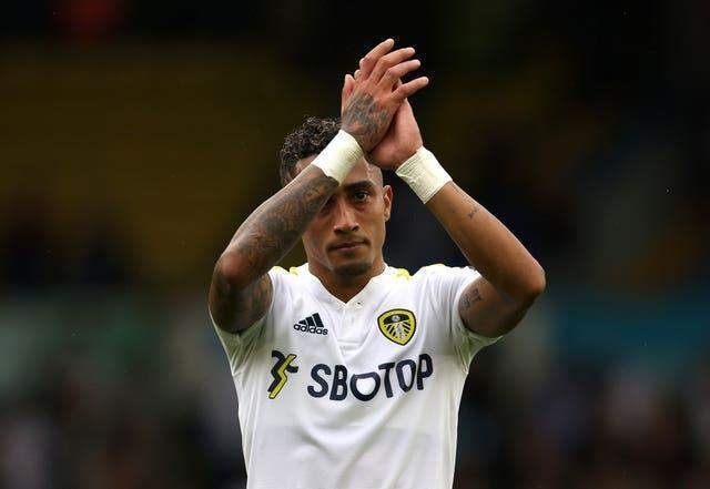 Raphinha joined Leeds on a four-year deal