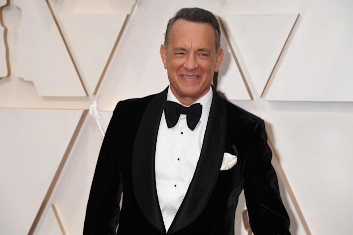 Audiences are use to seeing Tom Hanks with hair. (Photo: Jeff Kravitz/FilmMagic)
