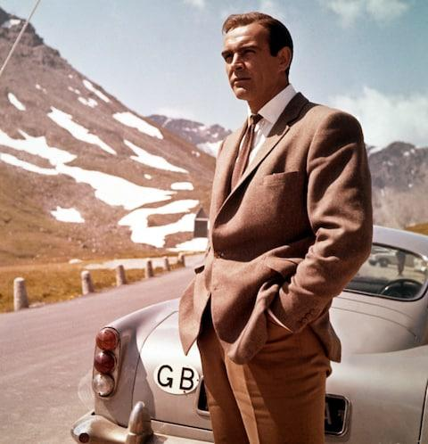 Sean Connery as James Bond in Goldfinger (1964)  - Credit: CAP/MFS/Capital Pictures