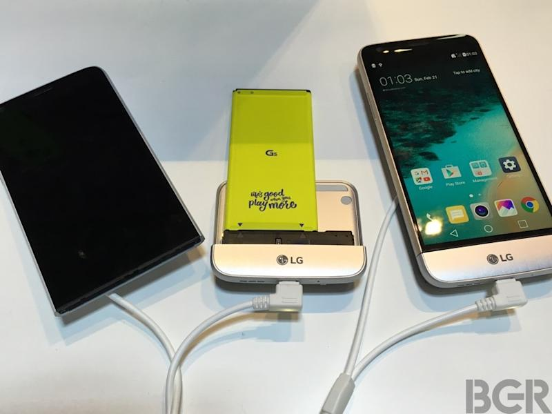 LG G5 hands-on: A gorgeous phone that's unlike anything you