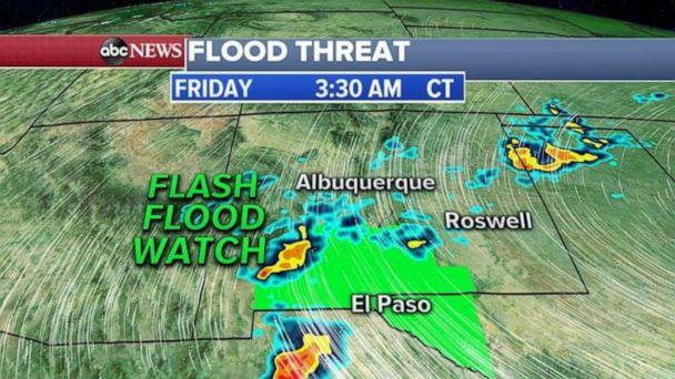 PHOTO: Flood threat (ABC News)