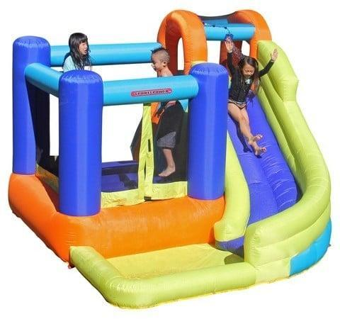 "<p>You'll be the coolest house on the block with a <a href=""https://www.popsugar.com/buy/Sportspower-My-First-Jump-N-Slide-115945?p_name=Sportspower%20My%20First%20Jump%20%27N%20Slide&retailer=amazon.com&pid=115945&price=230&evar1=moms%3Aus&evar9=25800161&evar98=https%3A%2F%2Fwww.popsugar.com%2Fphoto-gallery%2F25800161%2Fimage%2F44172582%2FSportspower-My-First-Jump-N-Slide&list1=gifts%2Ctarget%2Choliday%2Cgift%20guide%2Cparenting%2Ckid%20shopping%2Choliday%20for%20kids%2Cgifts%20for%20toddlers%2Cbest%20of%202019&prop13=api&pdata=1"" class=""link rapid-noclick-resp"" rel=""nofollow noopener"" target=""_blank"" data-ylk=""slk:Sportspower My First Jump 'N Slide"">Sportspower My First Jump 'N Slide</a> ($230) that's part bounce house, part slide.</p>"