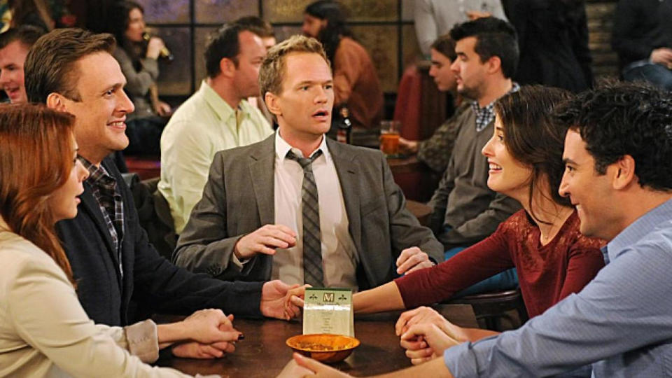'How I Met Your Mother'. (Credit: CBS)