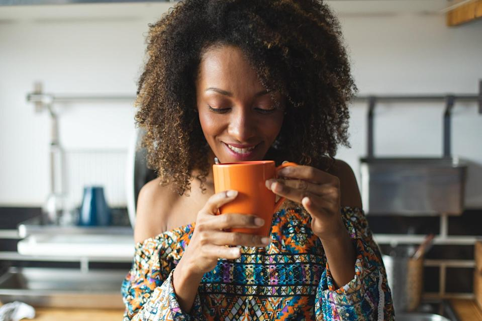 """<p>Choose one activity this morning and commit to doing it mindfully, without distractions like your checking your phone or listening to music. Try brushing your teeth, taking a shower, or making or drinking coffee mindfully, Dr. Ho suggested. """"You'll find your mind is much more settled and you enjoy that activity more.""""</p>"""