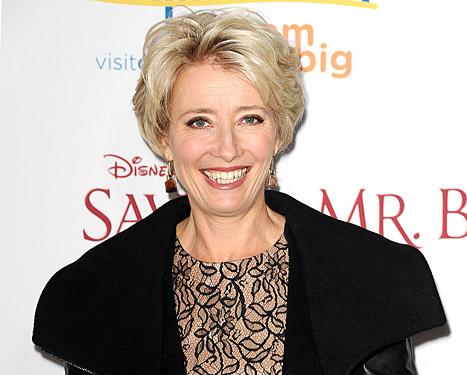 """Emma Thompson Jokes She """"Didn't Have Sex for Six Months"""" Because of Perm"""