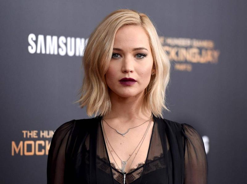 Jennifer Lawrence condemned the producer's 'predatory tactics and lies' (Getty)