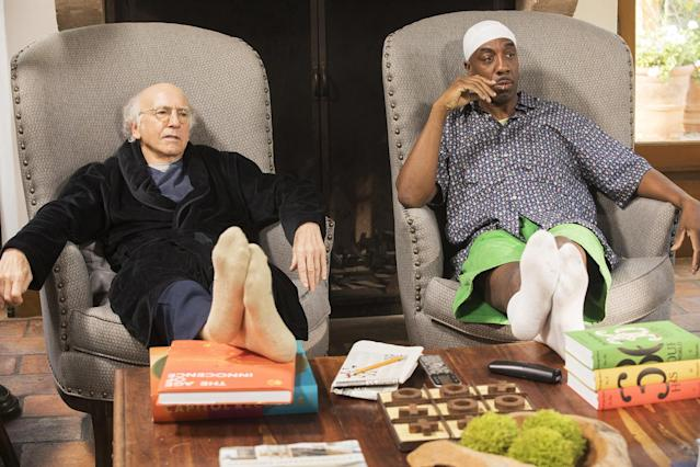 David and J.B. Smoove on 'Curb Your Enthusiasm' (Photo: HBO)