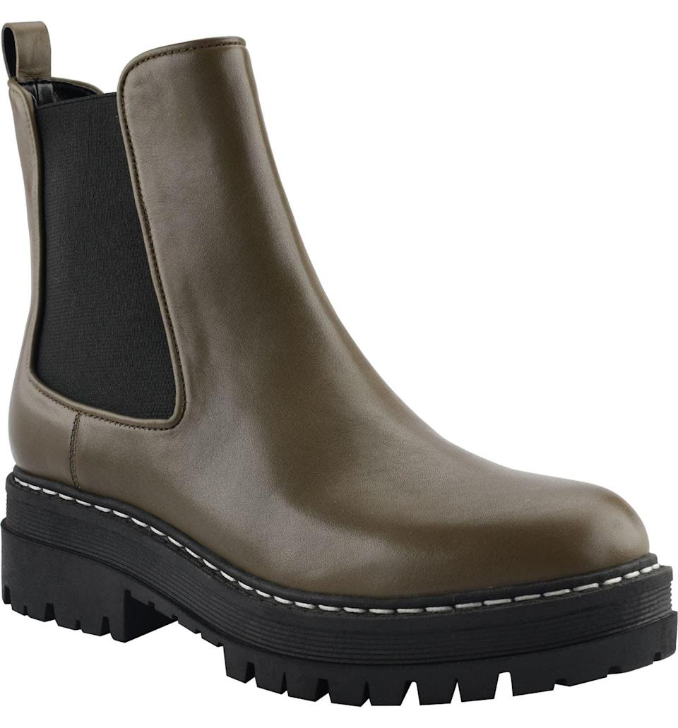 <p>The <span>Marc Fisher LTD Privi Platform Chelsea Boot</span> ($199) packs style and comfort in a modern and compliment-worthy way. It's a great companion to walks, everyday errands, and beyond.</p>