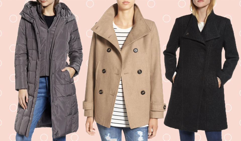 Save big on these gorgeous coats. (Photo: Nordstrom)