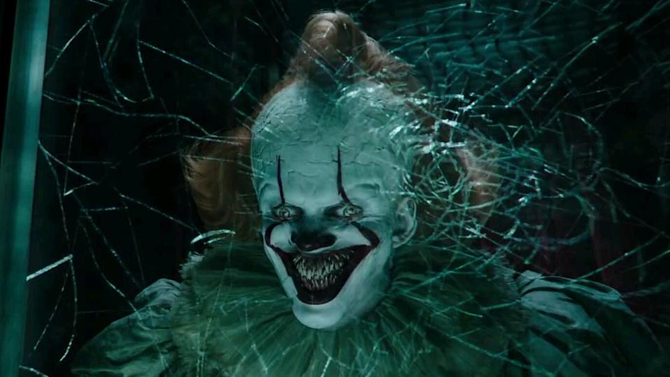 Pennywise the clown from 'It: Chapter Two'. (Warner Bros.)