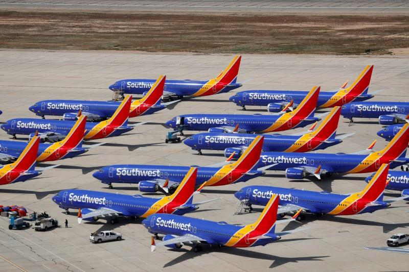 American, Southwest say demand helping competitors while 737 MAX sits parked