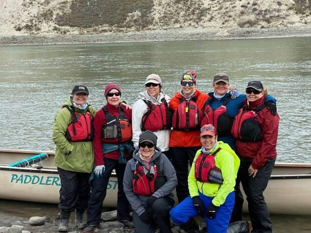 The team for this year's race. The 2021 Yukon River Quest begins in Whitehorse on June 23.