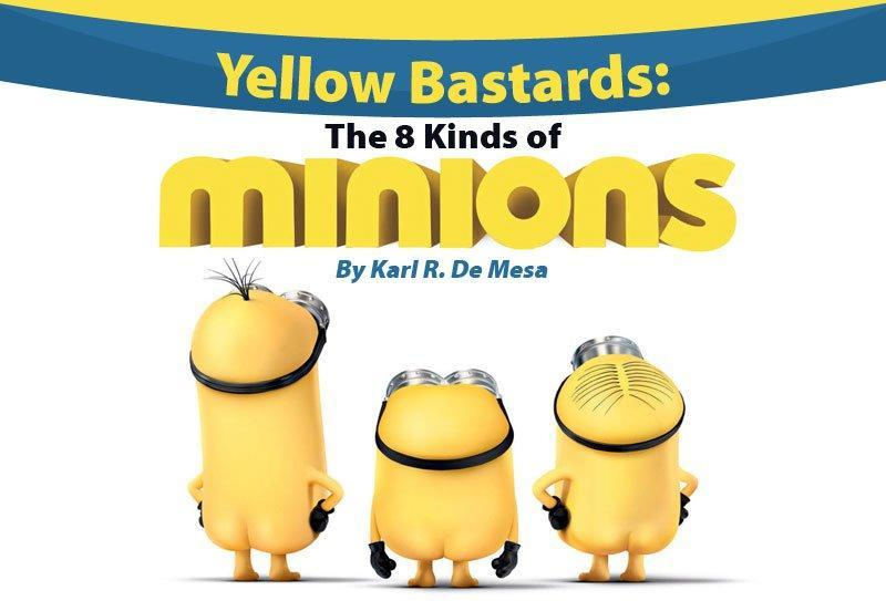 Yellow Bastards: The 8 Kinds of Minions