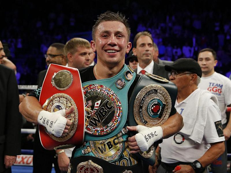 Golovkin is WBC, IBF and IBO World Middleweight champion (Reuters)