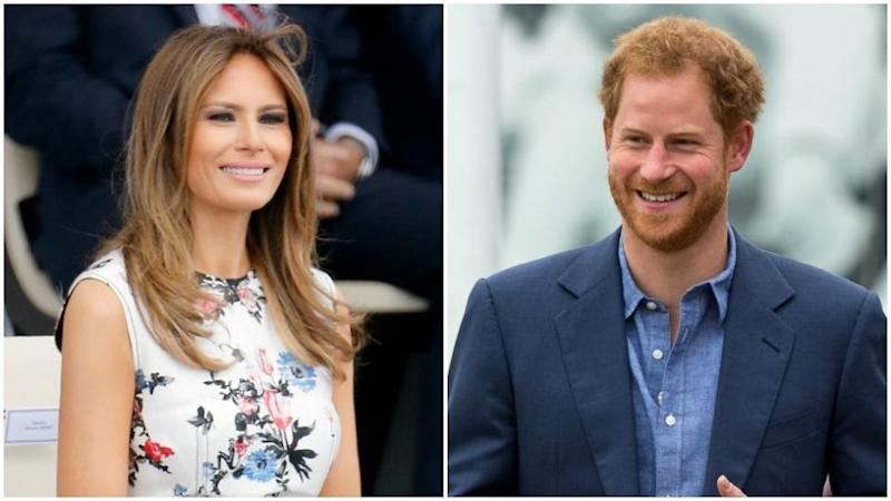 Melania will meet with Prince Harry, who founded the games. Photo: Getty Images