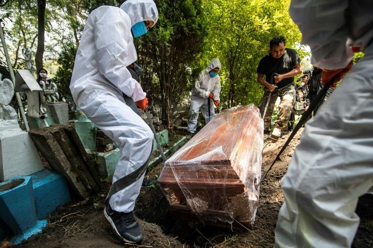 Mexico's Covid-19 death toll is one of the highest in the world