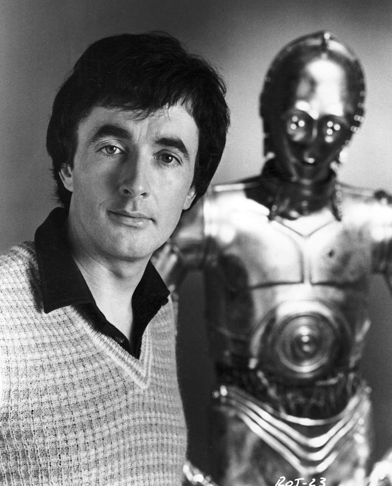 anthony daniels c3po behind the scenes
