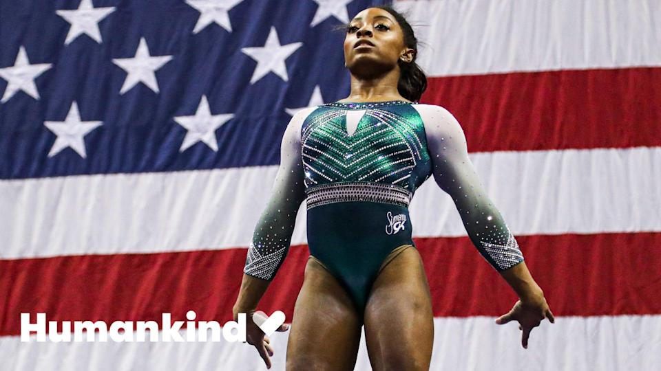 Gymnast Simone Biles' Olympic career may never have happened without two people. Her parent's decision to adopt is now helping future generations.