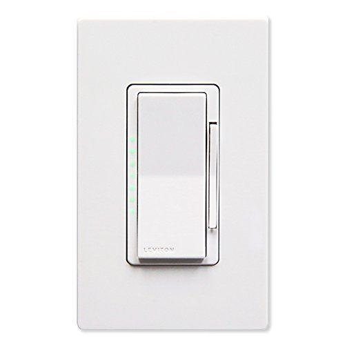 "<p><strong>Leviton</strong></p><p>amazon.com</p><p><strong>$52.28</strong></p><p><a href=""https://www.amazon.com/dp/B01N4F487U?tag=syn-yahoo-20&ascsubtag=%5Bartid%7C10055.g.35090968%5Bsrc%7Cyahoo-us"" rel=""nofollow noopener"" target=""_blank"" data-ylk=""slk:Shop Now"" class=""link rapid-noclick-resp"">Shop Now</a></p><p>Designed with<strong> Z-Wave technology for increased communication range and no WiFi needed,</strong> this smart dimmer switch features two-way feedback, is scene capable, and is supported by security systems, hubs, and gateways that are Z-Wave enabled. The rocker style is simple and clean, allowing users to push the top of the paddle to turn on or the bottom to turn off. Wall plates come in six colors to suit your decor. </p><p>You do need a separate Z-Wave enabled hub, such as <a href=""https://www.amazon.com/dp/B01KW8WGZQ?tag=syn-yahoo-20&ascsubtag=%5Bartid%7C10055.g.35090968%5Bsrc%7Cyahoo-us"" rel=""nofollow noopener"" target=""_blank"" data-ylk=""slk:Wink"" class=""link rapid-noclick-resp"">Wink</a> or <a href=""https://www.amazon.com/dp/B07FCRCD93?tag=syn-yahoo-20&ascsubtag=%5Bartid%7C10055.g.35090968%5Bsrc%7Cyahoo-us"" rel=""nofollow noopener"" target=""_blank"" data-ylk=""slk:SmartThings"" class=""link rapid-noclick-resp"">SmartThings</a>, to schedule lights to dim or turn on/off automatically and control via app, or you can use voice control using Amazon Alexa. We found that installation was pretty easy; you just need a neutral wire.</p>"