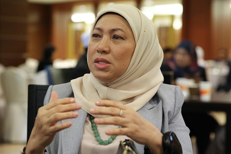Datuk Seri Nancy Shukri said she neither supports nor objects to the SPV, but warned Pakatan Harapan the impending failure of the vision should it fail to coordinate the implementation properly. — Picture by Yusof Mat Isa