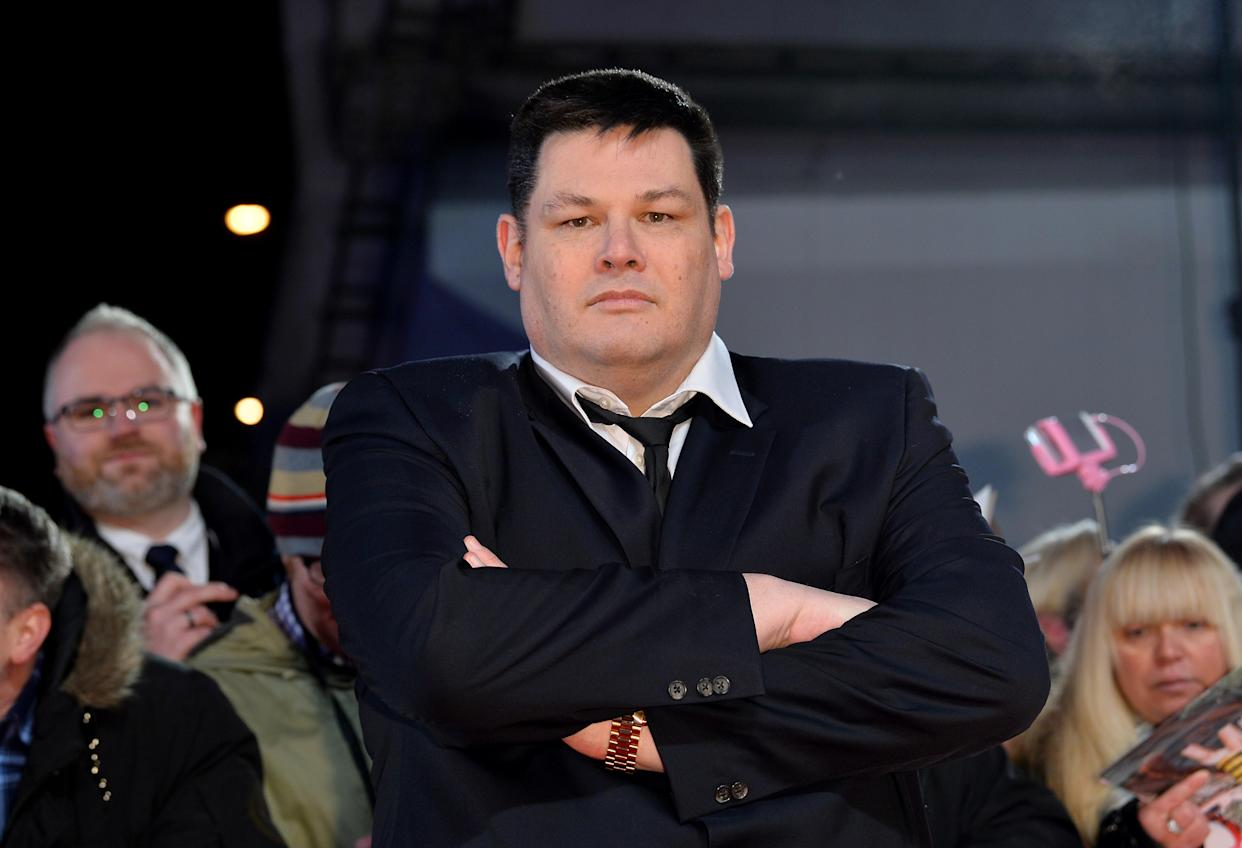 Mark Labbett attending the National Television Awards 2017 at the O2, London.