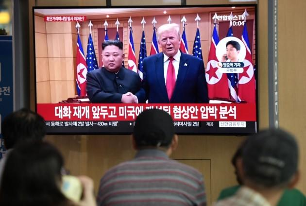 Trump critique l'hostilité de Kim Jong Un